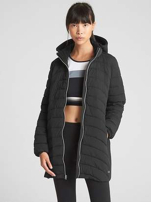 Gap GapFit Lightweight Hooded Puffer Jacket