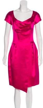 Christian Lacroix Vintage Satin Dress