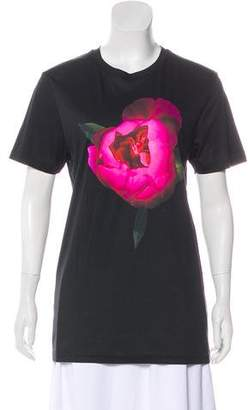 Christopher Kane Printed Short Sleeve T-Shirt