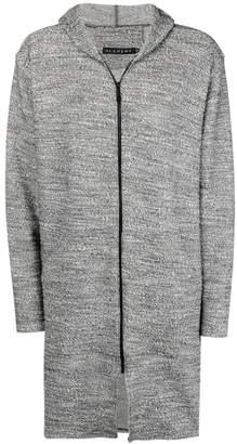 Alchemy hooded zipped jacket