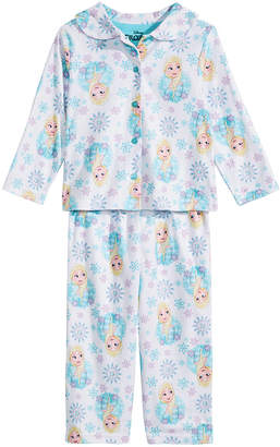 Frozen Toddler Girls 2-Pc. Printed Pajama Set