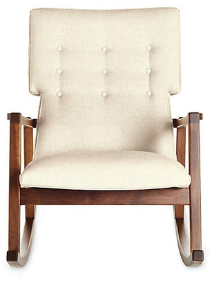 Design Within Reach Risom Rocker, Offwhite Fabric