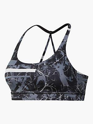08579dc45fe0a Reebok Workout Ready Motion Dot Tri Back Sports Bra