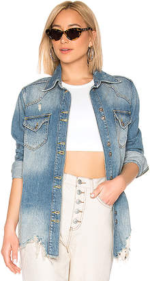 Free People Moonchild Shirt Jacket.