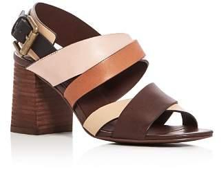 See by Chloe City Crisscross High-Heel Sandals