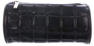 Chanel Square Quilt Cosmetic Bag