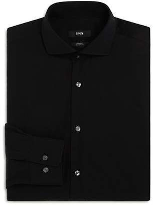 BOSS Solid Basic Regular Fit Dress Shirt