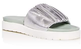 Daniella Lehavi Women's Sahara Soft Leather Platform Slide Sandals