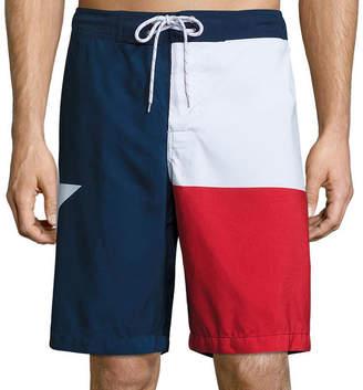 ST. JOHN'S BAY Pattern Swim Shorts