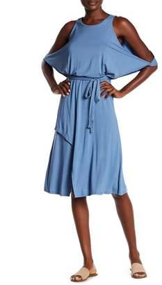 Elan International Dress Wrap with Cold Shoulder