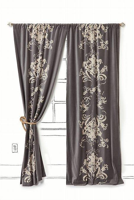 Viceroy Velvet Curtain