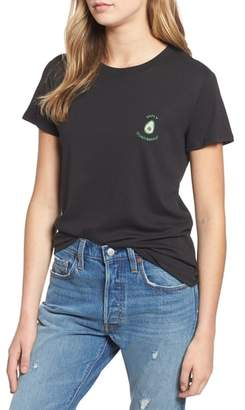 Sub Urban Riot Sub_Urban Riot Holy Guacamole Embroidered Slouched Tee