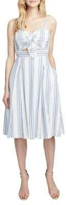 Rachel Roy Lola Striped Cotton Dress