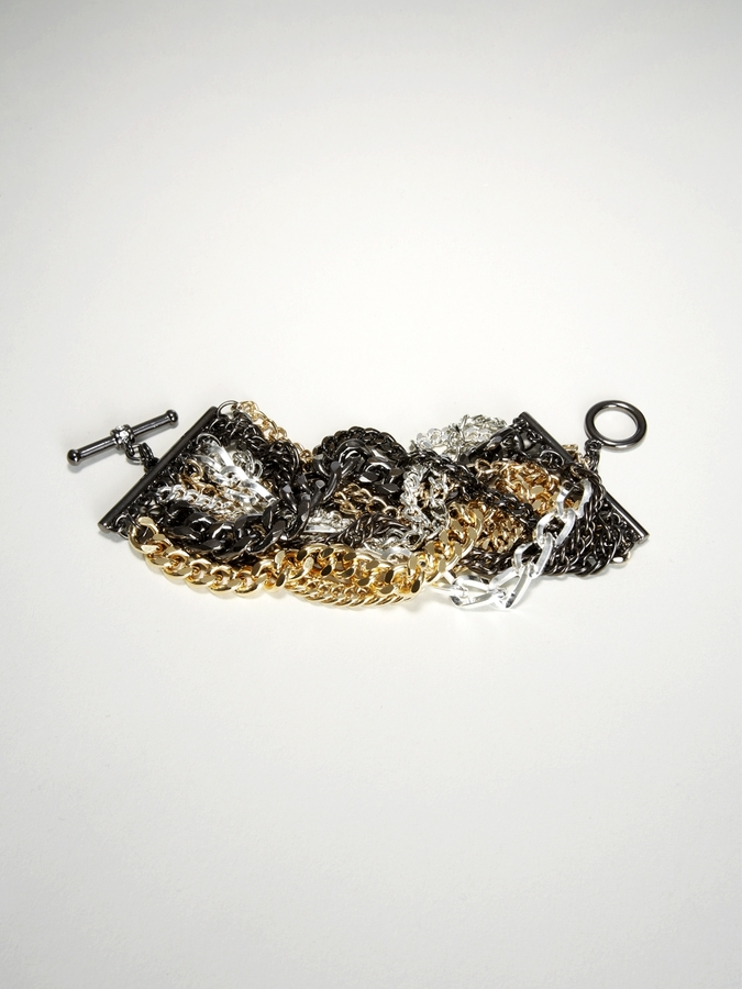 Final Sale - Statement Tough Chain Bracelet