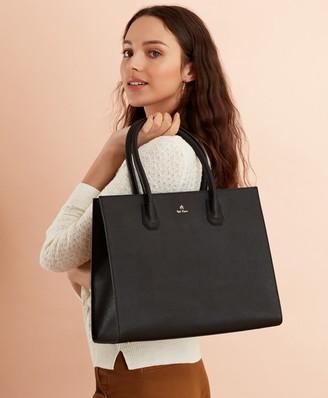 Brooks Brothers Pebbled Leather Tote Bag