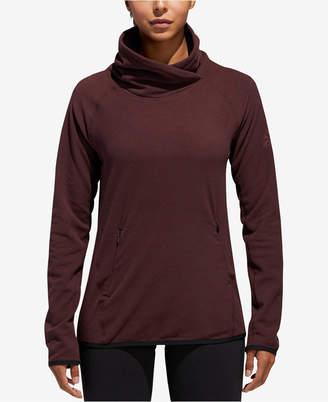 adidas Fleece High-Collar Top