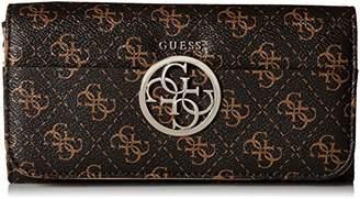 GUESS Kamryn Logo Large Flap Organizer Wallet Bro