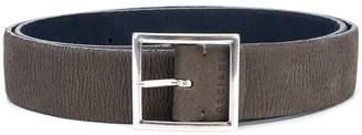 Orciani logo embossed buckle belt