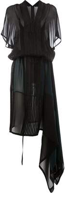 Ilaria Nistri striped empire dress