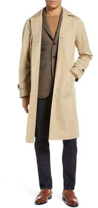 Ring Jacket Trim Fit Cotton Trench Coat