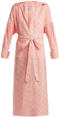 DAY Birger et Mikkelsen HORROR VACUI Aurelia leaf-print cotton maxi dress