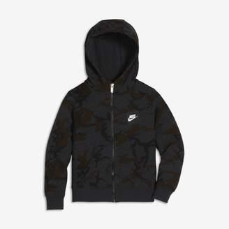Nike Sportswear Younger Kids'(Boys') Camo Hoodie