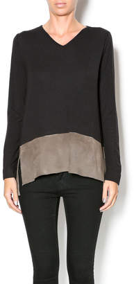 Ecru Suede Bottom Top