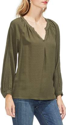 Vince Camuto Jacquard Top