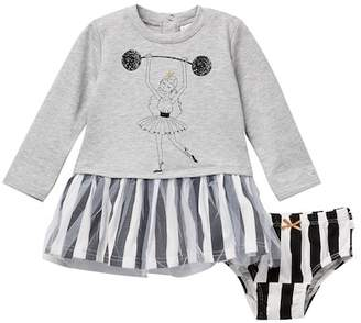 Rosie Pope Ballerina Dress (Baby Girls)