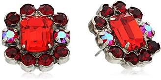 Sorrelli Ruby Celosia Post Stud Earrings