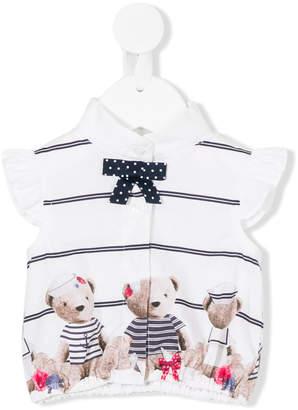 Lapin House teddy bear print T-shirt