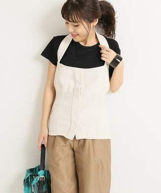 Spick and Span (スピック アンド スパン) - Spick and Span 【MAISON CHANTOISE】APRON TOP◆