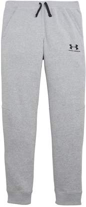 Under Armour Boys Cotton Fleece Joggers - Grey Heather