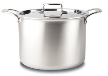 All-Clad 12-qt. Stainless Steel D5 Brushed Stockpot with Lid