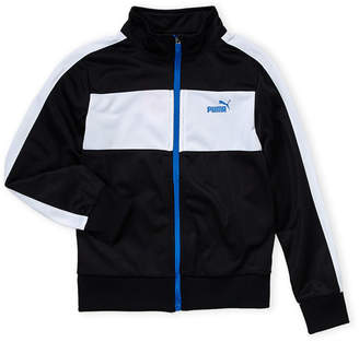 Puma Boys 8-20) Black & White Track Jacket