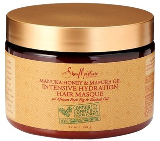 SheaMoisture® Community Commerce Manuka Honey & Mafura Oil Intensive Hydration Hair Masque - 12 oz $11.99 thestylecure.com