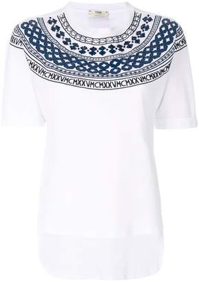 Fendi Mini-Maxi T-shirt