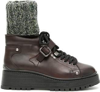 Miu Miu Combat Boots