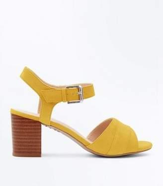 c9f53b89700 Yellow Low Heel Sandals For Women - ShopStyle Australia