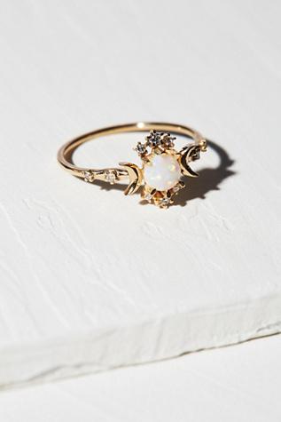 Morphe Jewelry Womens 14K WANDERING STAR DIAMON