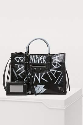 Balenciaga Paper Graffiti handbag
