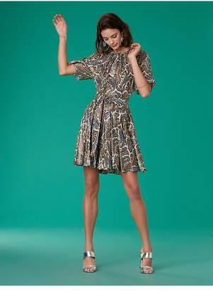 Diane von Furstenberg The Ana Satin Dress