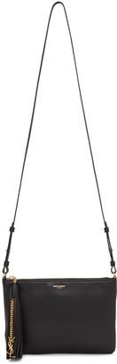 Saint Laurent Black Teen Crossbody Bag $995 thestylecure.com