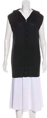 Thomas Wylde Hooded Zip-Up Vest