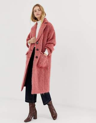 Asos mohair duster coat