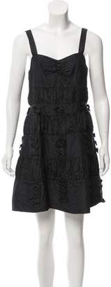 Marc by Marc Jacobs Ruched Silk Dress