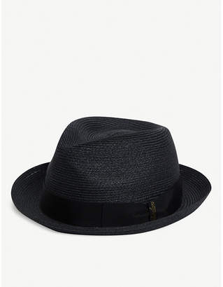 ad125b305abaef Borsalino Medium-brimmed hemp hat