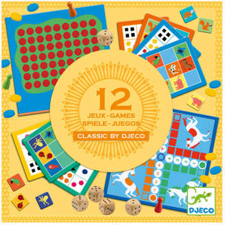 Djeco Classic Game Set - Set of 12
