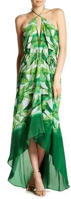 Shahida Parides 3-Way to Style Long Silk Dress