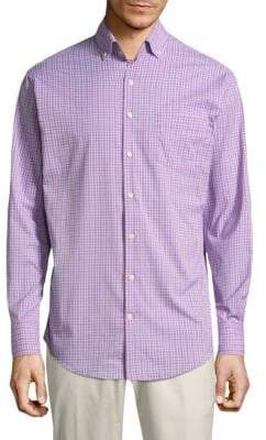 Peter Millar Barber Plaid Button-Down Shirt